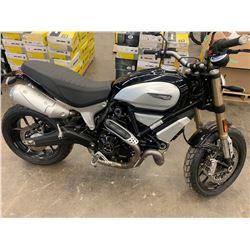 Motorcycle: 2018 Ducati Scrambler 1100 DIAMOND