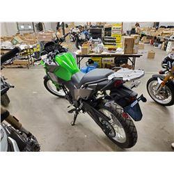 Motorcycle: 2017 Kawasaki  VERSYS X 300 ABS