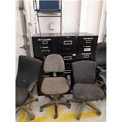File Cabinets and Office Chairs