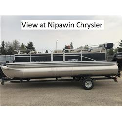 New 2018 Lowe UF202 Fish and Cruise / 90hp  Package View at Nipawin Chrysler Can be Viewed at the Ni