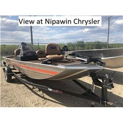 Used 2018 Basstracker / 40HP Merc Trailer Package Can be Viewed at the Nipawin Location