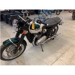 Motorcycle: 2018 Triumph Bonneyville T120