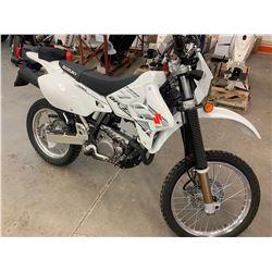 Motorcycle: 2018 Suzuki DRZ Dual Sport 400