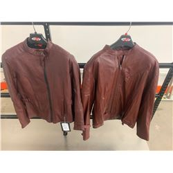 Joe Rocket His & Hers Leather Jackets