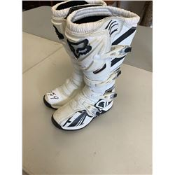 Fox White Riding Boots