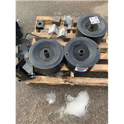 Boat Wheels, Chocks and Misc brackets