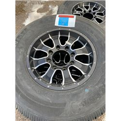 Alloy Trailer Tires and wheels