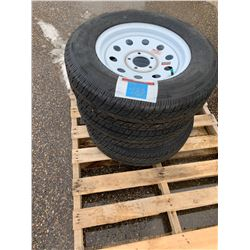 Steel Trailer Tires and Wheels