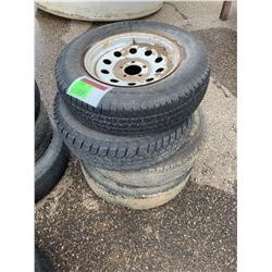 Steel Trailer Tires and Wheels and Motorcycle Tires