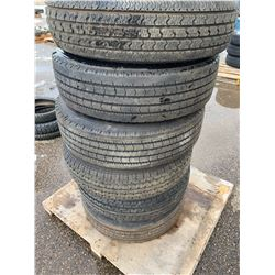 Trailer Tires with and without rims
