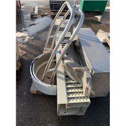 Boat Fenders, Trailer Fenders, Checker Plate Tool Box and misc items