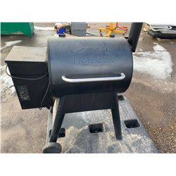 Traeger Smoker with Cover
