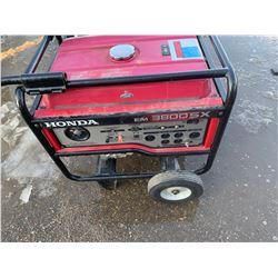 Used Honda Gas Generator 3800sx