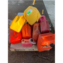 Jerry Cans, Coleman Cooler and Collant