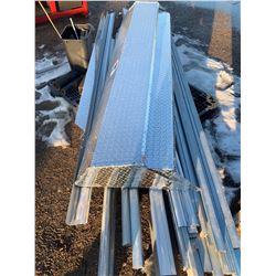 Salt Sheilds, Aluminum Rails, Workbench and misc steel