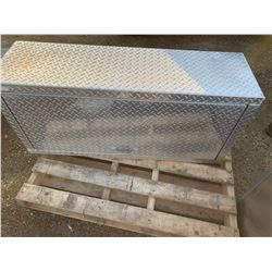 Aluminum Checker Plate Storage Boxes
