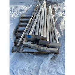 Aluminum Dock Legs and trim kits