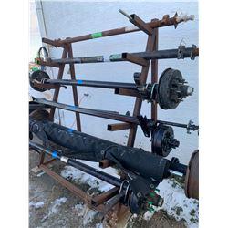 Metal Iron Pipe Rack
