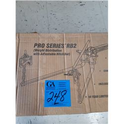 Pro-Series RB2 Weight Distribution with Adjustable Hitch Bar