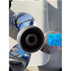 """1 New Stainless Steel Prop 14 1/2"""" x 15"""""""