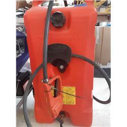 53 Litre/14 Gallon Flo'n Go Portable Gas Tank Dura Max with Hose on Wheels