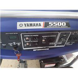 New Yamaha 5500  Gas Generator Model# EF5500DE SN: 7P5-0271519
