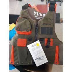 3 New Yukon Adult Life Vests, 2 Youth & 2 Infant Life Vests