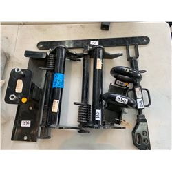 "Lift Rod Assembly Part#  A1896553, G-Tow Pintle Hitch 3"" Part#  63036, 3"" Pintle Hitch Adjustable Ey"
