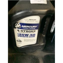 5 - 1 Gallon Jugs of Unopened Synthetic Blend Oil