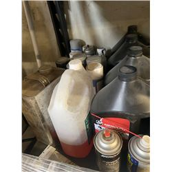 Tire Mounting Lube, Fuel Cleaner, Radiator Flush, 4 Stroke Oil, Adhesive Remover, Sea Foam Cleaner,