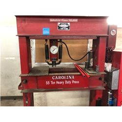 Carolina 55 Ton Heavy Duty Industrial Press Model# CBP5500 Serial # 23178