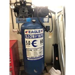1 Eagle 18.5 CFM 100 PSI - 5 H.P. Compressor Model# V-208-230 - Serial # E150591