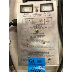 1 Tekonsha Engineering  Controlling Brake Testing Meter with Hose