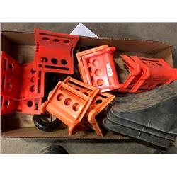 Misc. Wheel Chocks, Bracket Kit Part# 16143, Reese Slider Unit  - New Part# 30092
