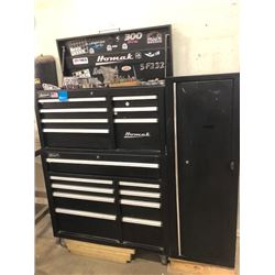 Homak 300 Pro 3 Piece Tool Chest Containing:  Stanley/Mastercraft Sockets, Pro-Point Various Screw D