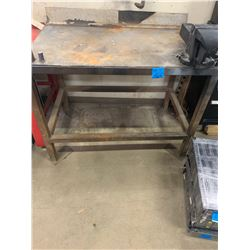 Steel Work Bench with Erwin Vice #8