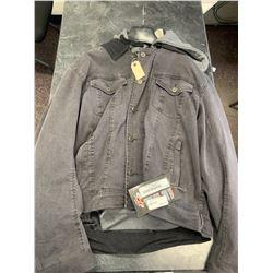 Men's Joe Rocket Leather Jacket - Med- New