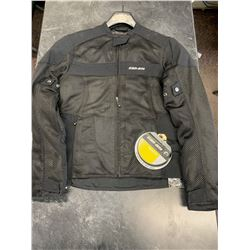 Men's Can Am Black Jacket - Small - New