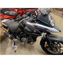 2017 Suzuki V-Strom Motorcycle  with 13 km's VIN# JS1C733BOH2100472