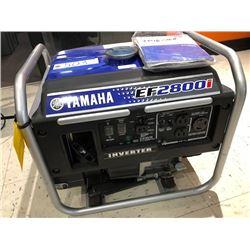 Yamaha EF2800i - New Generator Serial#:YP16-168