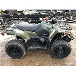 New 2019 Suzuki King Quad 400 Asi VIN:5SAAK4CKXK7100073