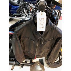 Ducati leather lady vintage style  jacket- size L -987695145