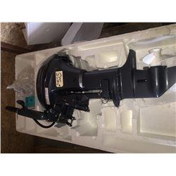 Yamaha 4 stroke 8HP w. tiller, unused
