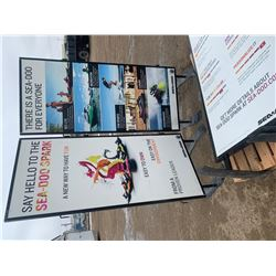 Advertising Stands