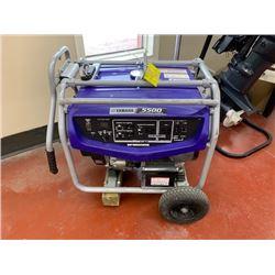Used 2016 Yamaha EF5500DE generator. Sn 7PS 0270466