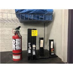 "2 - 2"" Hitch Bars, 2 - 2"" Pintle Hook Mounts, A/B/C Fire Extinguisher"