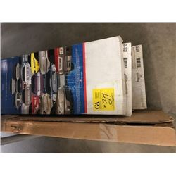 3 boxes all season screens (25-3520) one for jeep liberty, 2 misc. boxes