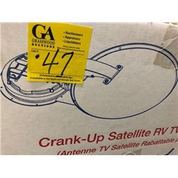 Winegard crank-up satellite RV antenna (RM-DM46)