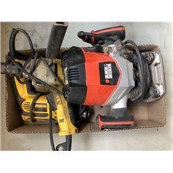 """BLack & Decker RP-250-CA; Power Fist 1/2"""" D-handle drill; Dewalt DWD112"""