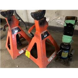 3- 12 ton jack stands